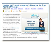Leading by Example - America's Moms are the True Agents of Change